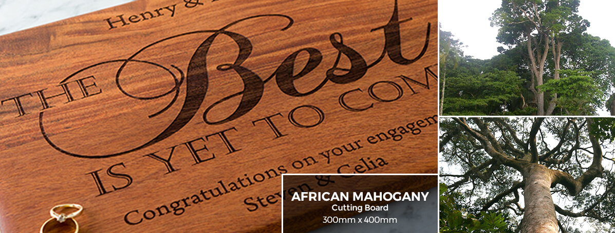 Exotic African Woods | African Mahogany Cutting Board | YBM: Your Best Mark