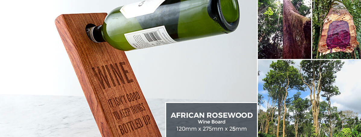 Exotic African Woods | African Rosewood Cutting Board | YBM: Your Best Mark