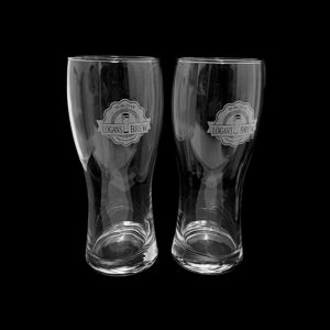 Beer Glasses - Side Engraving
