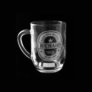 Beer Mug - 21st Engraving