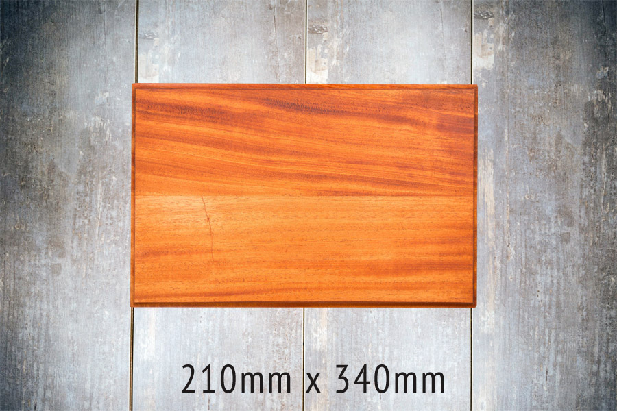AFRICAN AFRICAN MAHOGANY - Small Board